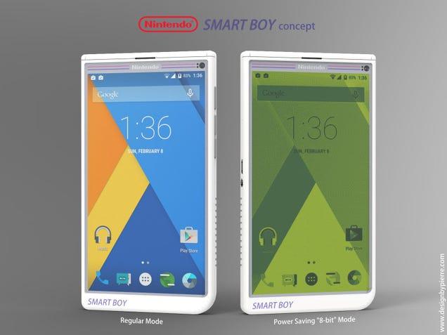 Así es el smartphone que debería crear Nintendo