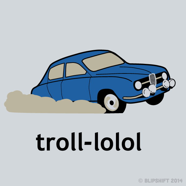 New Blipshift Shirt - Trollin'