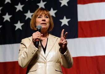 "Sharron Angle Promises Post-Election ""Shock and Awe"""