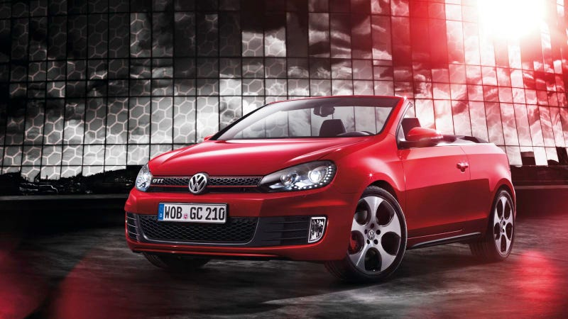 Golf GTI Cabriolet: First Photos