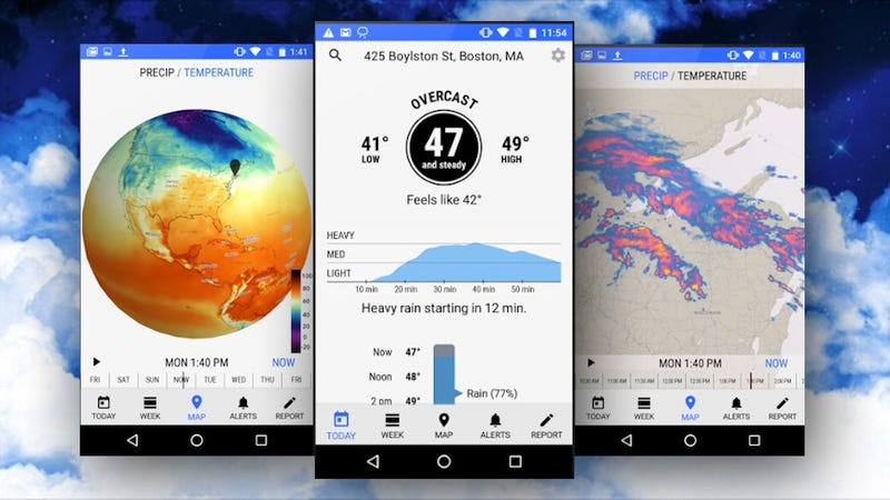 Dark Sky, the Up-to-the-Minute Weather App, Finally Arrives on Android