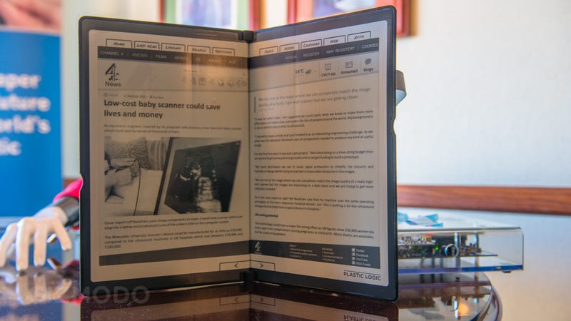 Flexible E Ink Tablets Will Probably Be Neat Someday, But Not Right Now