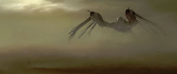 First Concept Art from John Carter takes you to Mars