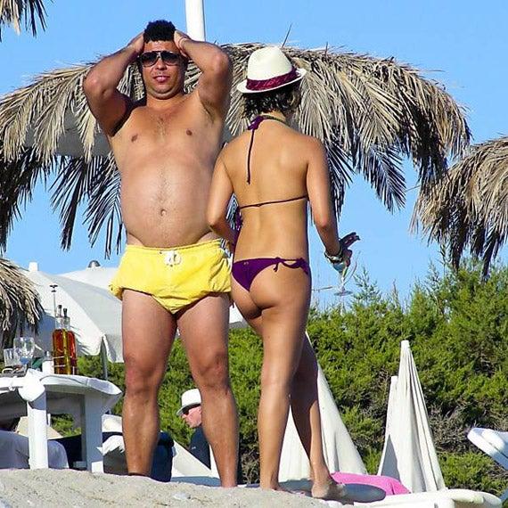 Fat Ronaldo Goes To Ibiza