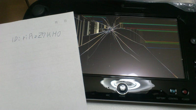 In Less than 24 Hours, This Lady Broke Her Wii U GamePad [Update]