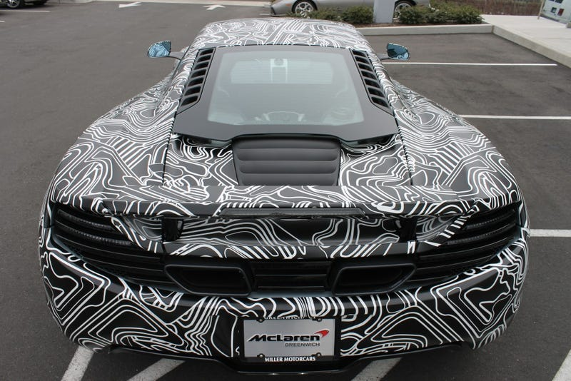 You Can Now Own A McLaren With The World's Best Paint Job