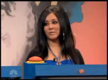 Snooki on Leno: So Dumb She Must Be Acting