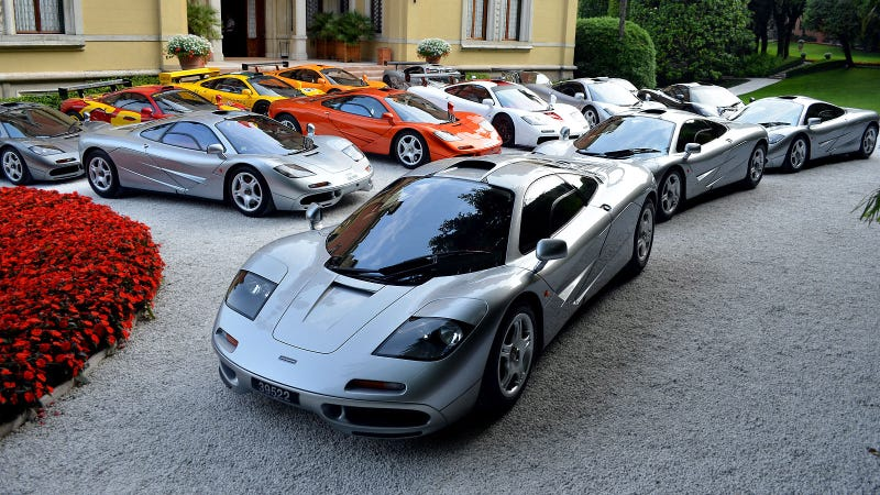 You'll Need Wider Lens For This Many McLaren F1s