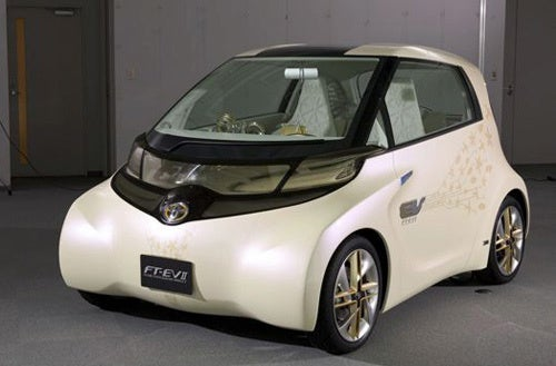 Toyota FT-EV II Concept: Weirdo Electric Daily Driver