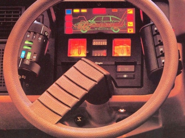 Utterly Bitchen Car Dashboards Inspired By Spaceships