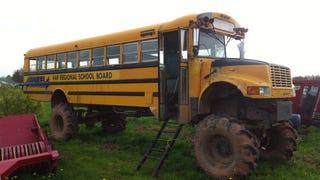 This Magic Bus Rules the School Yard