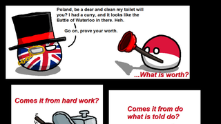 Daily Polandball: What is Worth.