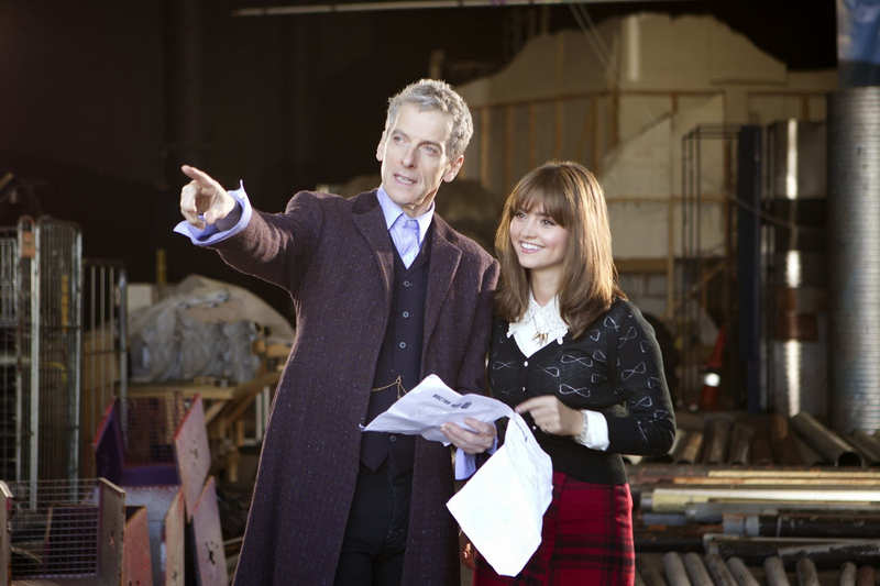 The First pictures of the Twelfth Doctor aren't the ones you're expecting