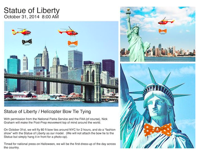Statue of Liberty to Be Whored Out on Halloween