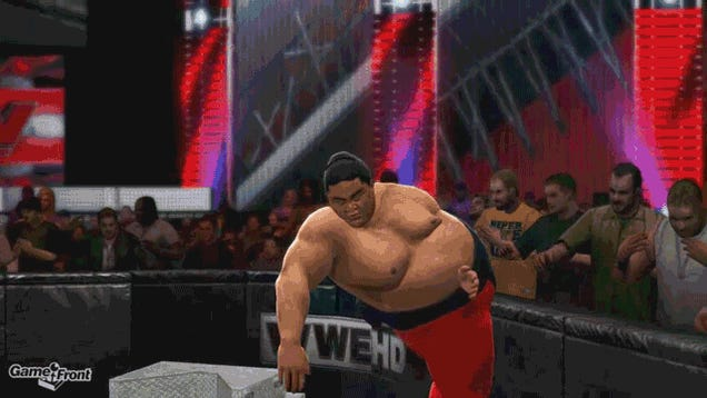 WWE 2K14's Glitches Make Pro Wrestling Look Disturbing as Hell