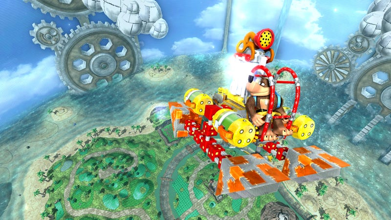 New Banjo Kazooie Nuts & Bolts Screens
