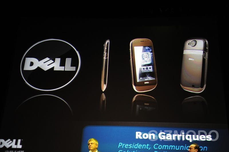 AT&T's First Android Phones: Five From Motorola, Dell and HTC