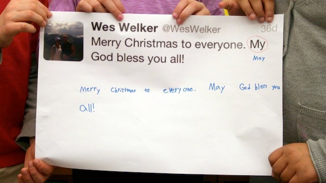 Second Graders Correct Tweets From NFL Players And It's Magical