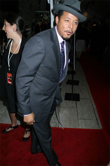 Terrence Howard Just Heard Baby Wipes Aren't Flushable