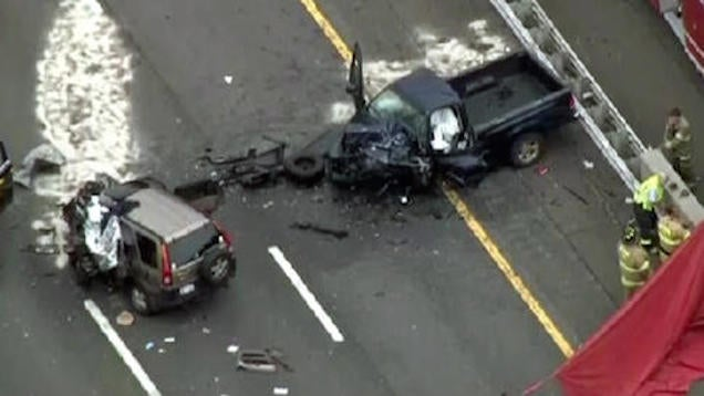 Two Dead After Off-Duty NYPD Cop Drives Wrong Way on Highway