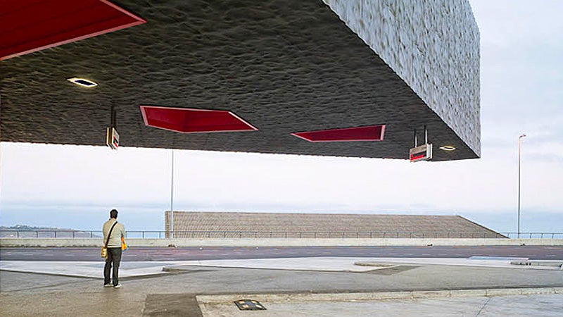 Alien Invaders Will Apparently Arrive In Stylish Bus Shelters