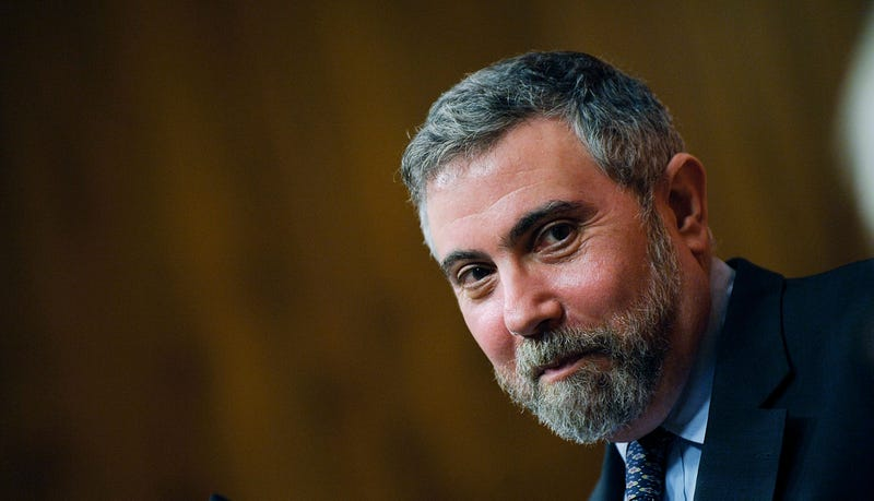 Income Inequality Institute Will Pay Paul Krugman $25,000 Per Month