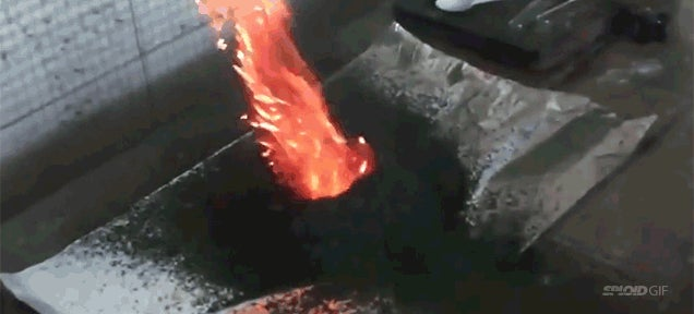 Chemical reactions that look like sorcery
