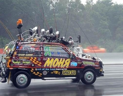 Space Car: The Goddess Of Maximalizm