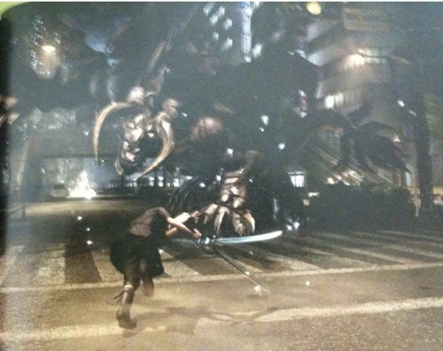 First Final Fantasy Versus XIII Gameplay Images