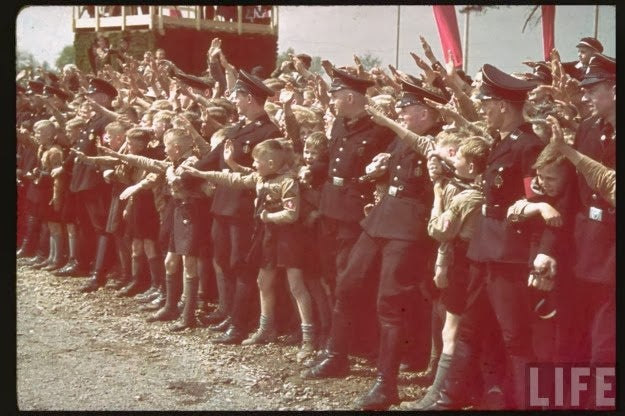 Hitler Dedicates the Fallersleben Volkswagen Works, 1938