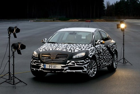 2009 Opel Insignia Spy Photos Released... By Opel?