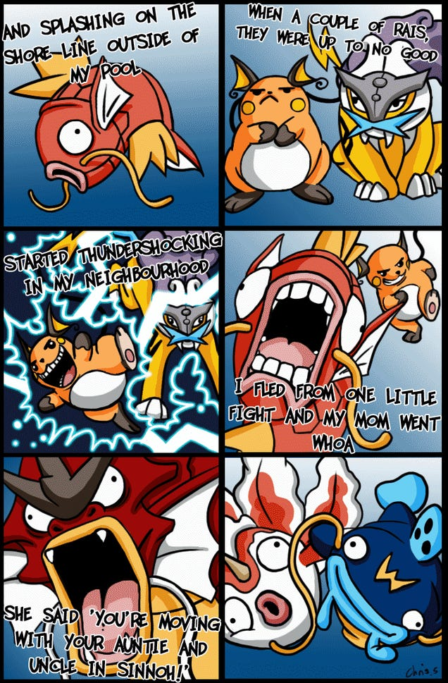 Oh, So THAT'S How Magikarp Became The Fresh Prince of Bel-Air. Um, I Mean Sinnoh.