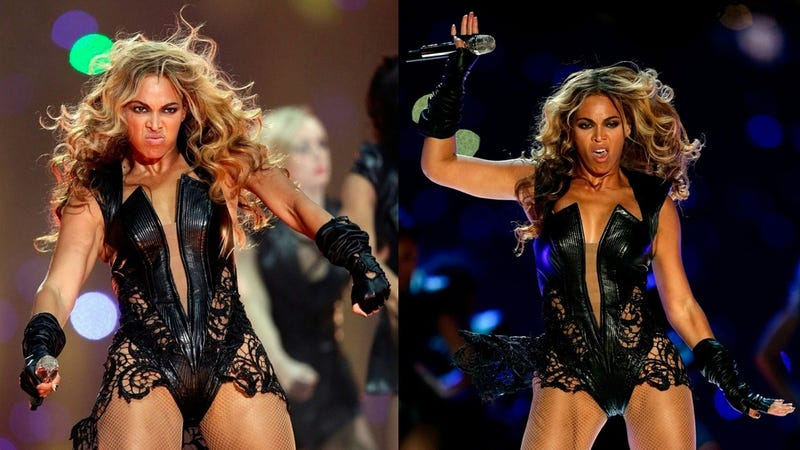 Breaking: Beyonce Is a Human Being, Looks Like a Total Weirdo Sometimes