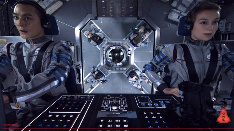 See the hard science fiction movie Europa Report on the big screen