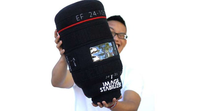 Plushtography Pillows Are Camera Lenses You Can Sleep With