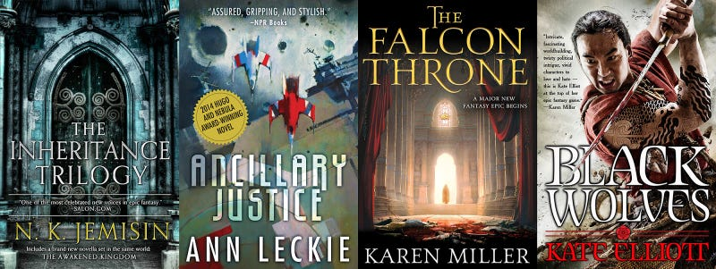 The No-Stilettos Rule: My Approach As A Woman Creating Scifi Book Covers