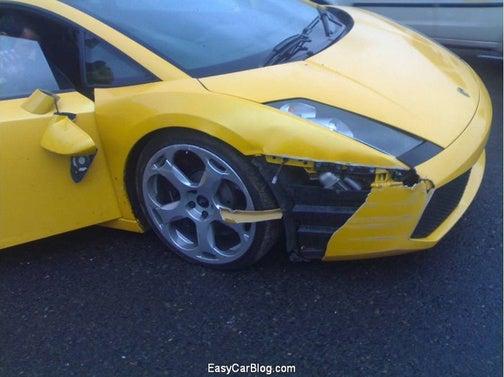South African Lamborghini Gallardo Hits The Cape, Literally