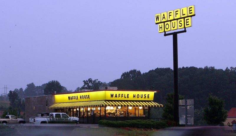 Woman Wears Hamburger as Sandal After Sex in Waffle House Parking Lot