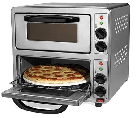 Dual Pizza Oven Delivers Cheesy Deliciousness in 90 Seconds