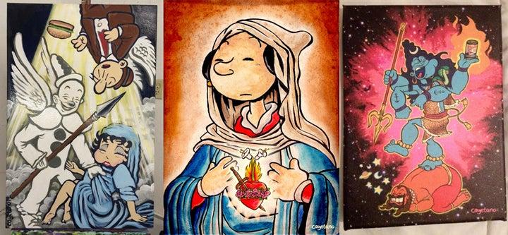 "Finding Zen in the ""Sacred Heart of Popeye"""