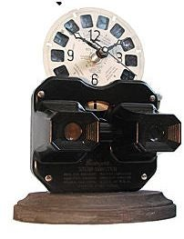 Vintage View-Master Clock: A Reminder That You Are Getting Old
