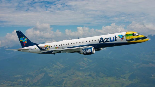 Brazil's Azul Airlines Celebrates Ayrton Senna With Special Livery