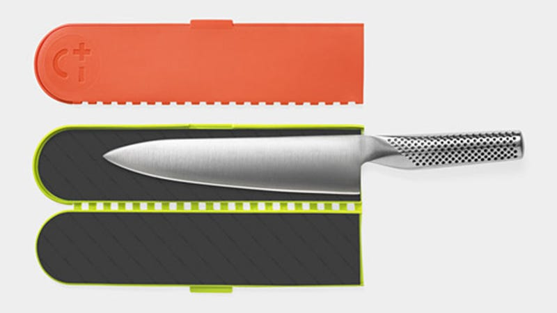 A Magnetic Case Keeps Your Knives Safe and Sharp