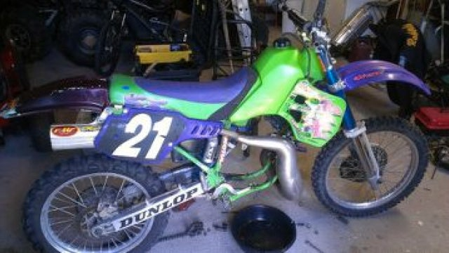 Guy Will Trade 'Awesome Babe Magnet' Dirt Bike For Samurai Sword