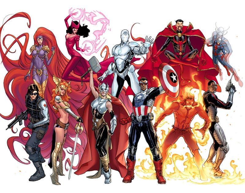 [Updated] Marvel's New Avengers Line-Up Contains Less...