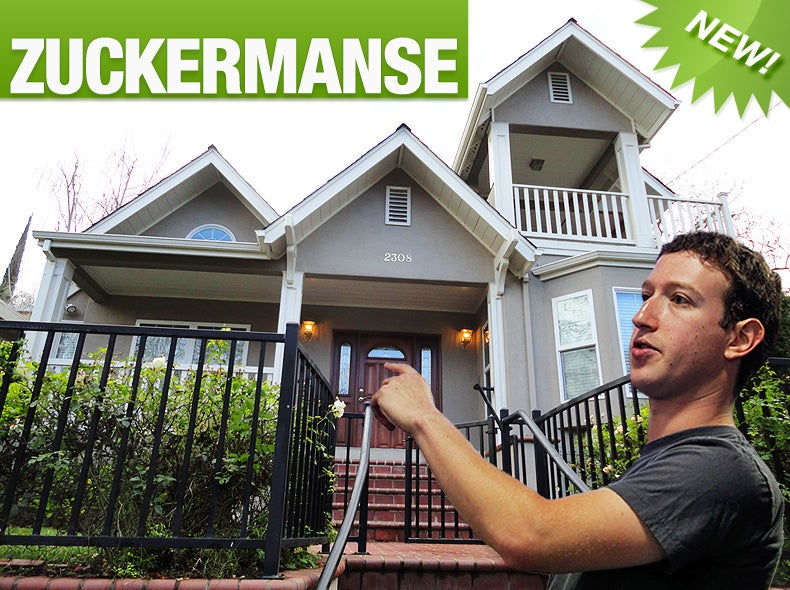 This Is Mark Zuckerberg's New Home
