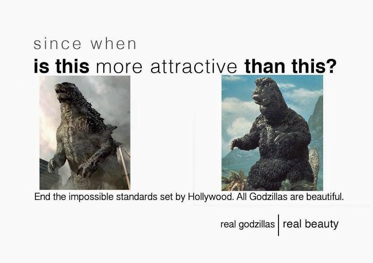 Godzilla beauty