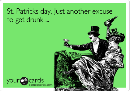 Why i hate St. Patrick's Day