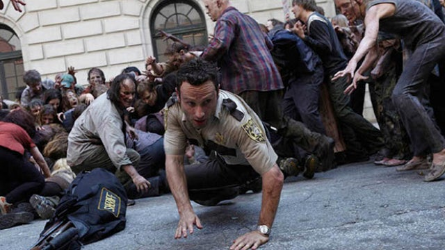 Are you ridiculously emaciated? You could be a zombie extra on The Walking Dead