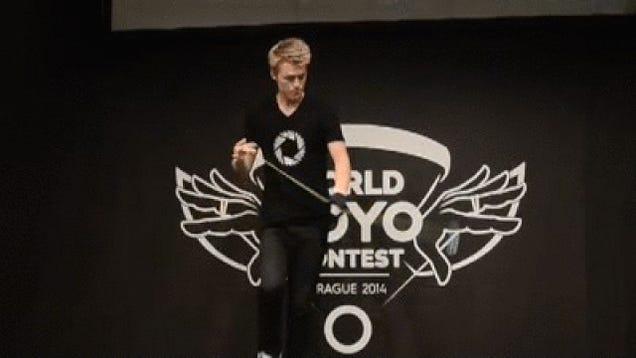 This Yo-Yo World Champ's Skills Are Mesmerizing
